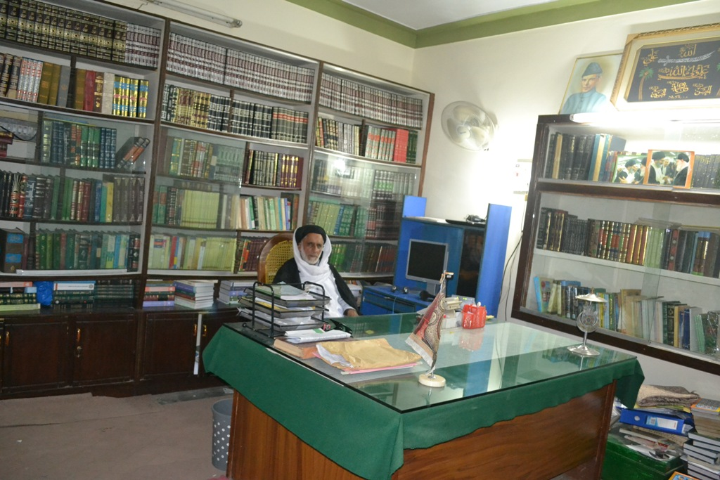علامہ سید رضی عباس سر پرست اعلی جامعہ