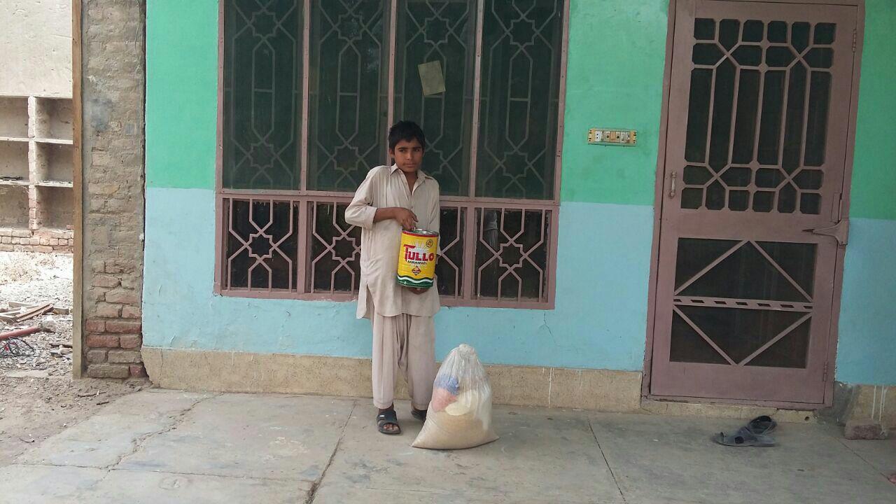 بلوچستان اور اٹک میں مرکز افکار اسلامی کی طرف سے راشن کی تقسیم