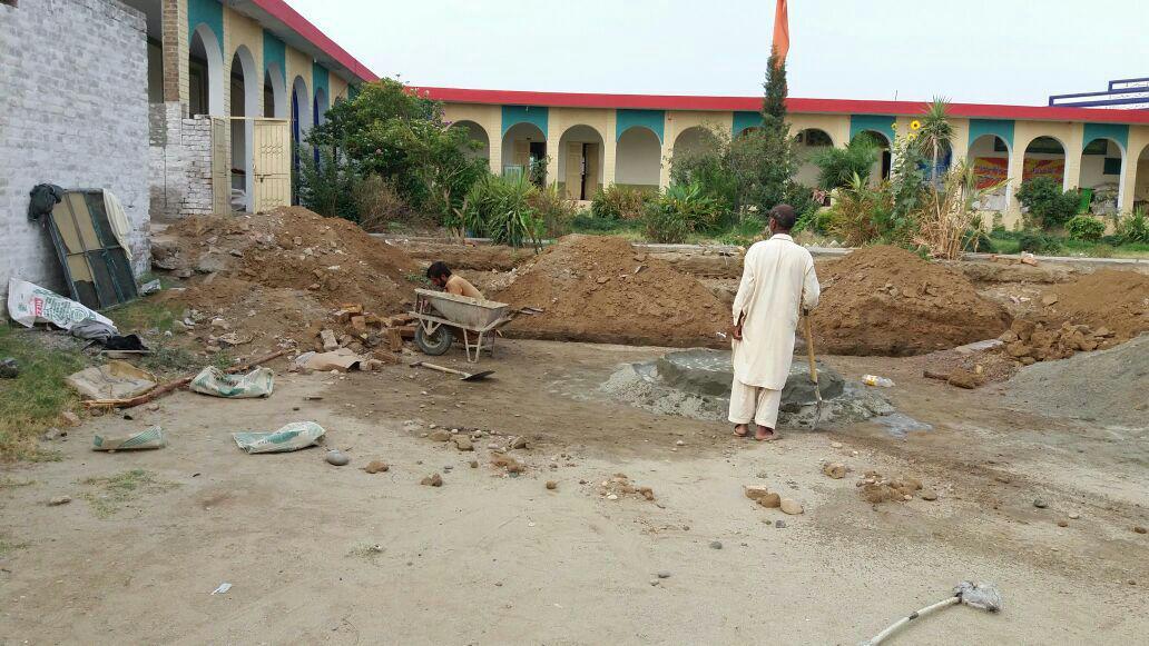 مرکز افکار اسلامی کی طرف سے جامعہ جعفریہ جند کے نئے بلاک کی تعمیر