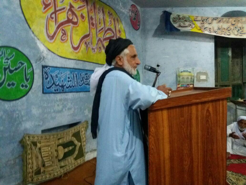 چوتھے نہج البلاغہ انعامی مقابلہ کی قرعہ اندازی میں علامہ سید رضی عباس کی شرکت