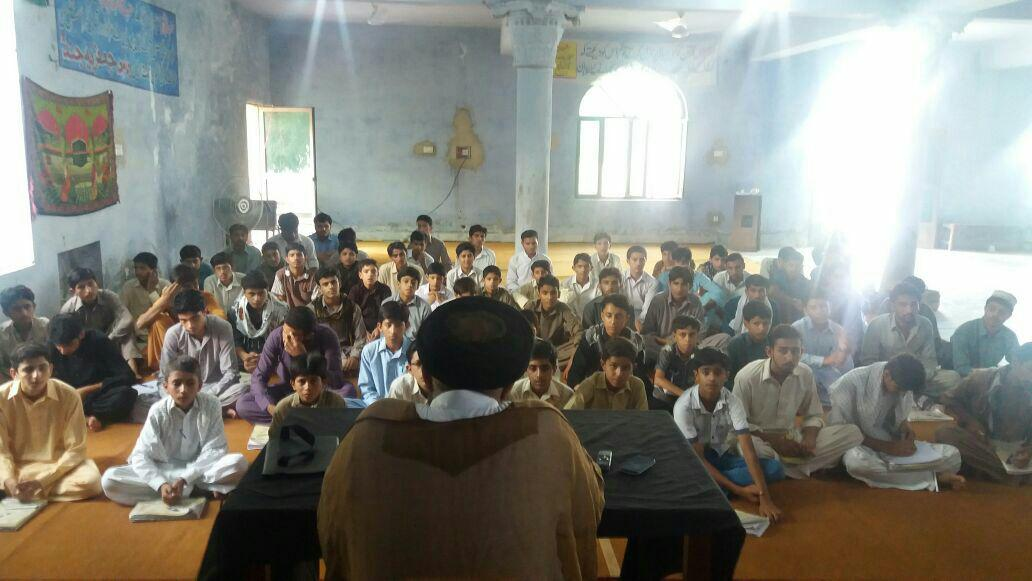 علامہ سید افتخار حسین نقوی کا طلاب جامعہ سے خطاب